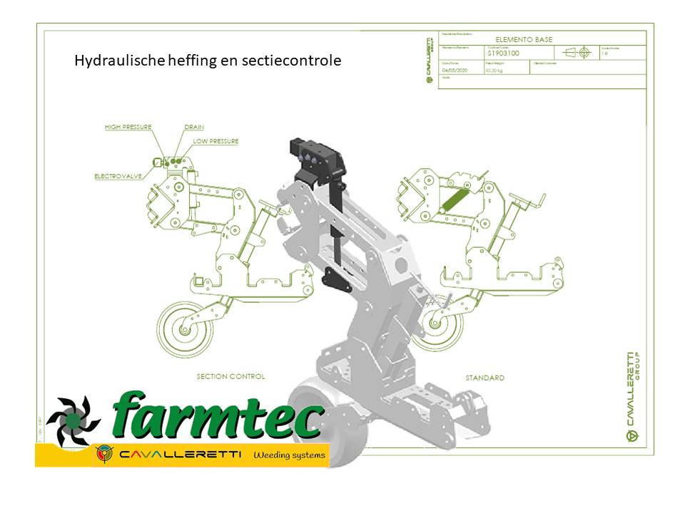 Farmtec Cavalleretti schoffelmachines