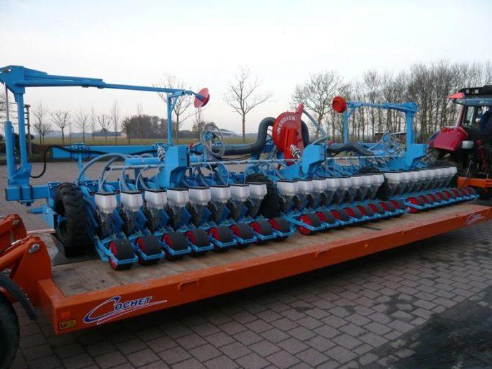 Cochet transportwagen Pozaterre PRE-D 6m50